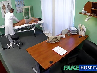 FakeHospital Dirty milf sex addict gets fucked by dramatize expunge contaminate
