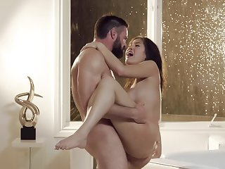 Wonderful coition action almost hot pamper Kendra and powerful male