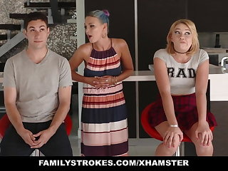 FamilyStrokes - Scavenger Hunting with sis about meanderings sexual