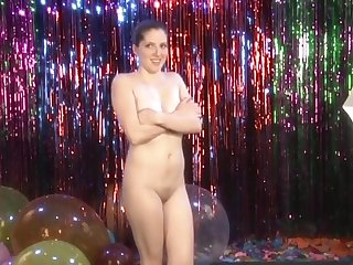 Good Girls Paid To Dance Naked! -- Stern Teen Co-Ed Chemistry Major Natalie