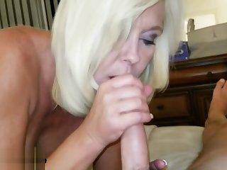 Blowjob Cowgirl Facial as She Smokes