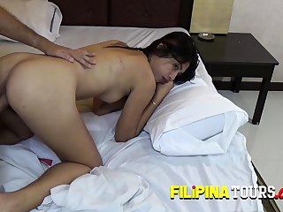 Cute Asian Teen is being offered money be worthwhile for a blow job!