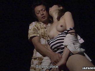 Japanese amateur, Miho Miyazawa sucked dick, un