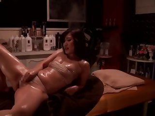 Hottest adult peel Japanese under legal restraint wait for show