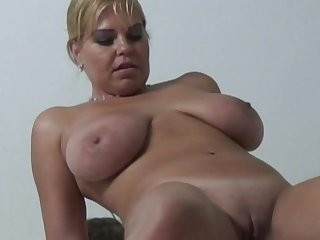 Chubby Blonde Dutch MILF Sexy Time Moment To Feel Good