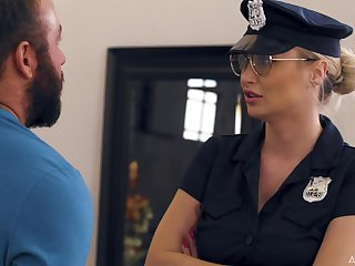 MILF Natalia Starr Caught By The Cops